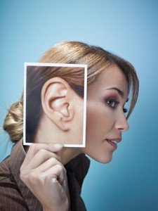 bigstock-Businesswoman-With-Big-Ears-10623491